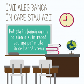 Imi aleg banca in care stau azi