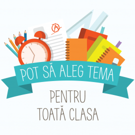 Pot sa aleg tema pentru toata clasa