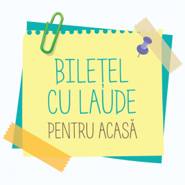 Biletel cu laude pentru acasa